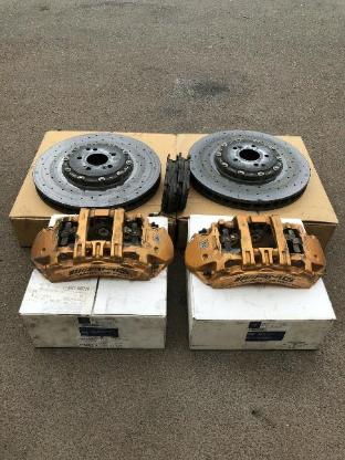 Mercedes Benz W205 W222 W217 Gt Bremsanlage Ceramic