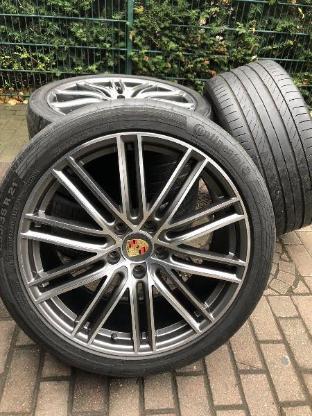 Porsche 21 Zoll Cayenne 958 Turbo Sommerräder