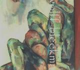 In Gedanken verloren... - Acryl auf Leinwand 70 x 90 cm Original Ingrid Wolff-Bleekmann - Münster