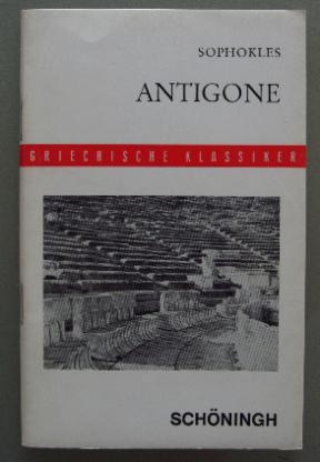 Sophokles: Antigone (in griechischer Sprache, 1963)