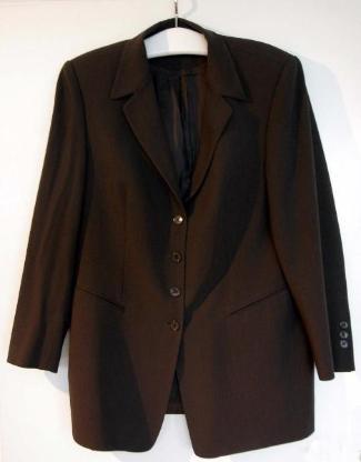 Damen-Blazer Marcona Gr. 44, Schlammfarbton, stretch